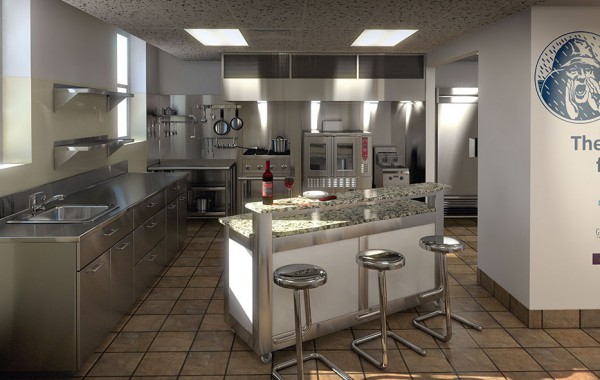 SLADE GORTON CORPORATE KITCHEN
