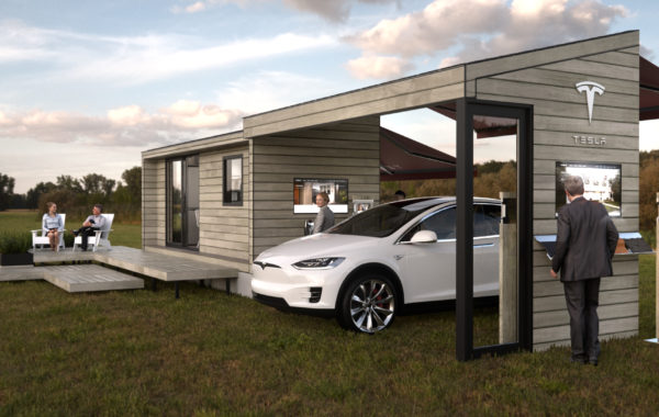 TESLA TINY HOUSE CONCEPT RENDERS